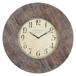 Williston Clock - Wood - 393354