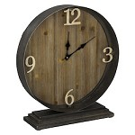 Horlbeck Table Clock - Wood and Metal - 393566