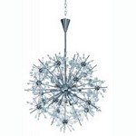 Eleven Light Polished Chrome Beveled Crystal Glass Up Chandelier - Maxim 39745BCPC