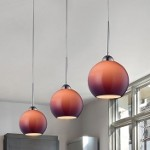 "Cassandra Collection 1-Light 9"" Polished Chrome Pendant With Purple Glass Shade 10240/1PUR"