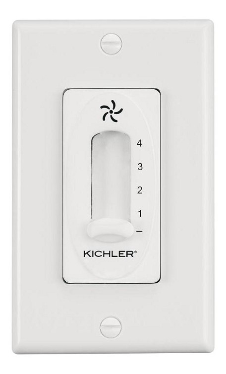Kichler White Fan Wall Mount Control - 337012WH