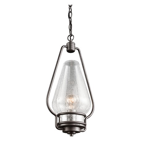 Kichler One Light Anvil Iron Hanging Lantern - 49094AVI