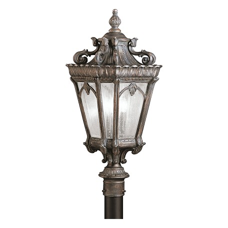 Kichler Three Light Londonderry Post Light - 9558LD