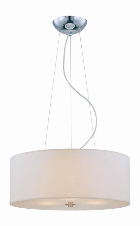 "Olwen II Collection 24"" 3-Light Chrome Pendant LS-19149"