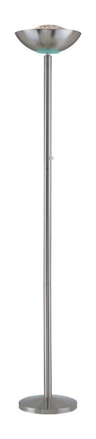 "Basic II Collection Energy Saving 72"" Polished Steel Torchiere Lamp"