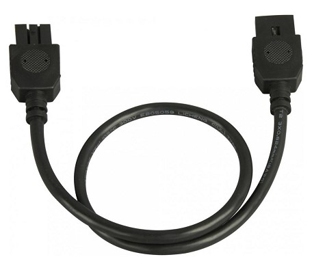 "CounterMax Collection Black MX4 18"" Connector Cord 87877BK"