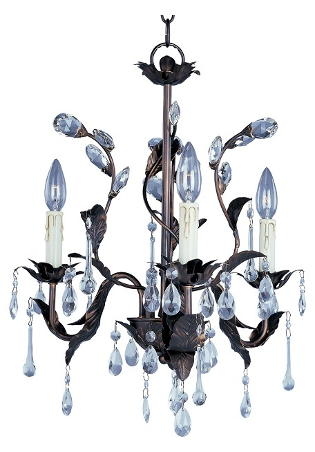 Grove Collection - 3 Light Chandelier - 8833-OI