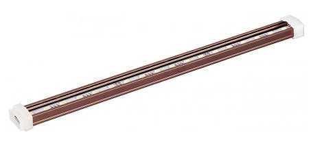 "StarStrand Collection 48"" 72-Light Anodized Bronze 24V LED Channel 53704BRZ"