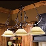 "Manor Collection 3-Light 45"" Oil Rubbed Bronze Island/Billard Light with Frosted Ivory Glass 12208FIOI"