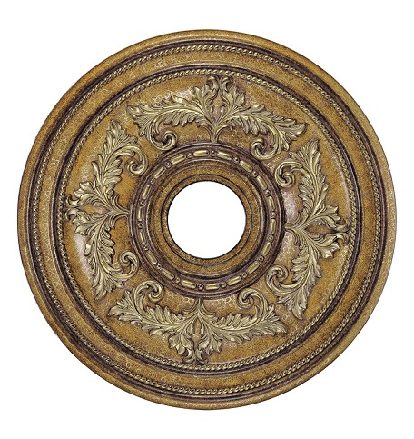 "Livex Lighting 22"" Venetian Patina Ceiling Medallion 8200-57"