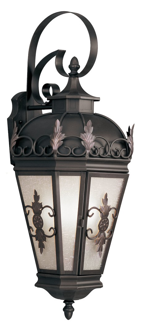 Bronze Berkshire 3 Light Outdoor Wall Sconce