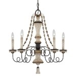 "Accents Provence Collection 5-Light 25"" Provence Patina Chandelier 1295-580"