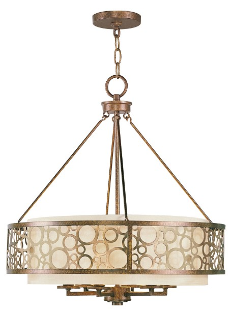 Palacial Bronze Avalon 6 Light 1 Tier Chandelier