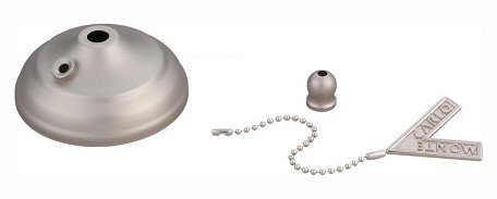 Monte Carlo Pull Chain Type Bowl Cap Kit - MC83BP