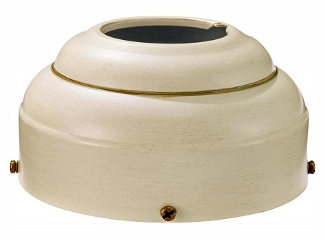 Monte Carlo Slope Ceiling Adapter - Distressed White - MC95DW