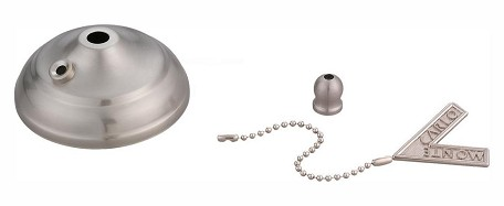 Monte Carlo Pull Chain Type Bowl Cap Kit - MC83BS
