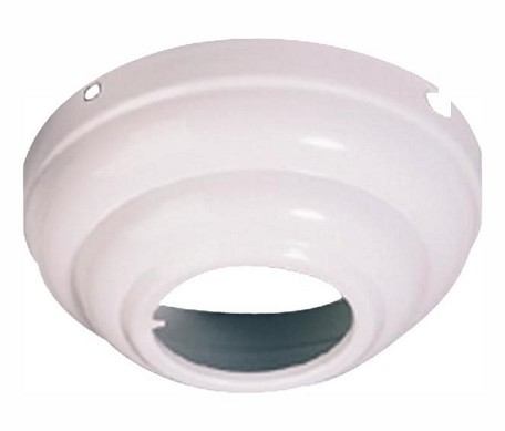 Monte Carlo Fan Series White Sloped Ceiling Adaptor MC95WH