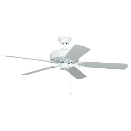 "Cove Harbor Collection 52"" White Ceiling Fan with White ABS Blades WOD52WW5P"