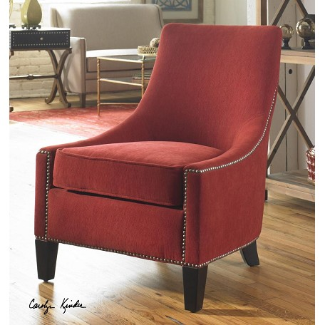 Red Kina Chair