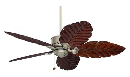 Antique Pewter Maui Bay 52in. 5 Blade Ceiling Fan with Custom Blade Options