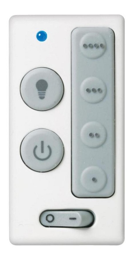 White Four Speed Wall Control which Operates from 30ft. Away