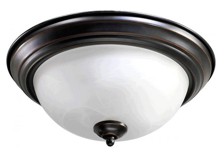 "Quorum International 13"" Old World Flush Mount 3066-13-95"