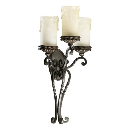 "Alameda Family 3-Light 28"" Oiled Bronze Wall Sconce 5286-3-86"