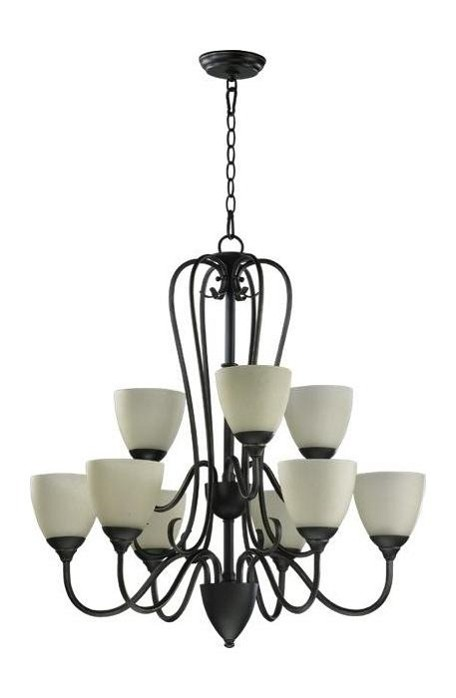 "Powell Family 29"" Old World Chandelier 6008-9-95"