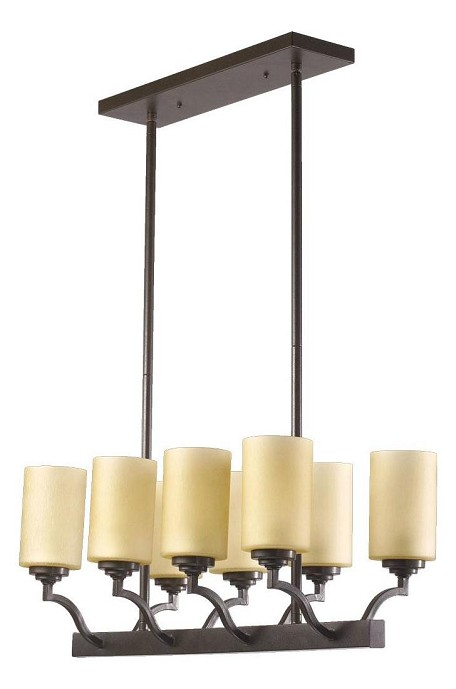 "Atwood Family 29"" Oiled Bronze Island Light 6596-8-86"