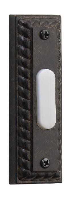 Quorum International Toasted Sienna Door Chime Button 7-303-44