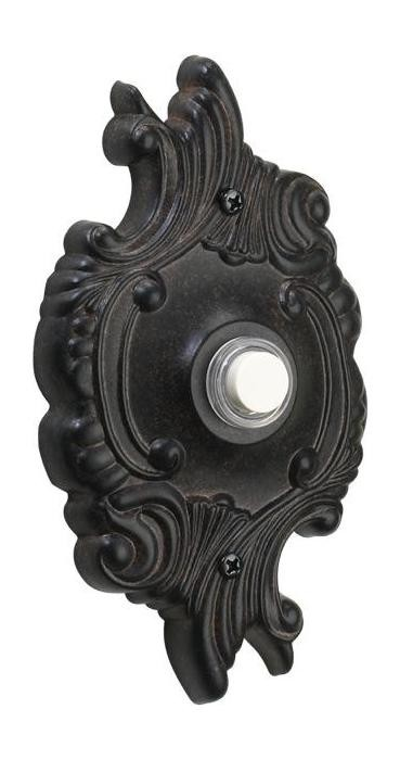 Quorum International Toasted Sienna Door Chime Button 7-309-44