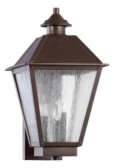 Emile Family 3-Light Oiled Bronze Outdoor Wall Mount 7024-3-86