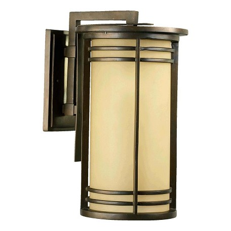 "Larson Family 1-Light 20"" Oiled Bronze Outdoor Lantern 7916-11-86"