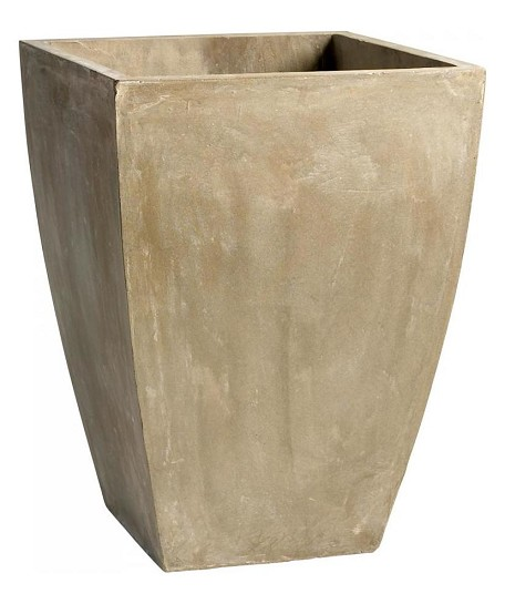 Brown 23.5in. Large Curve Planter