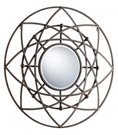 Rustic Robles Rounded Mirror