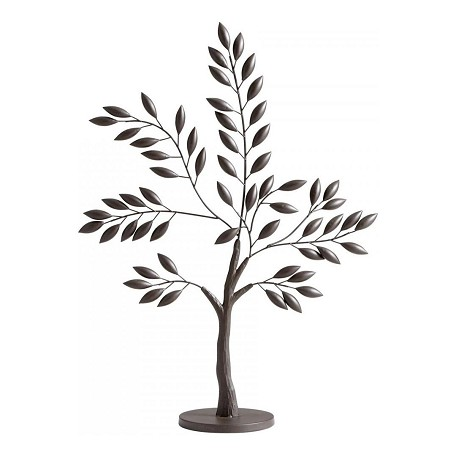 Graphite 30.5in. Large Sapling Tree Sculpture