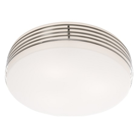 Chrome 3 Light Flushmount Ceiling Fixture