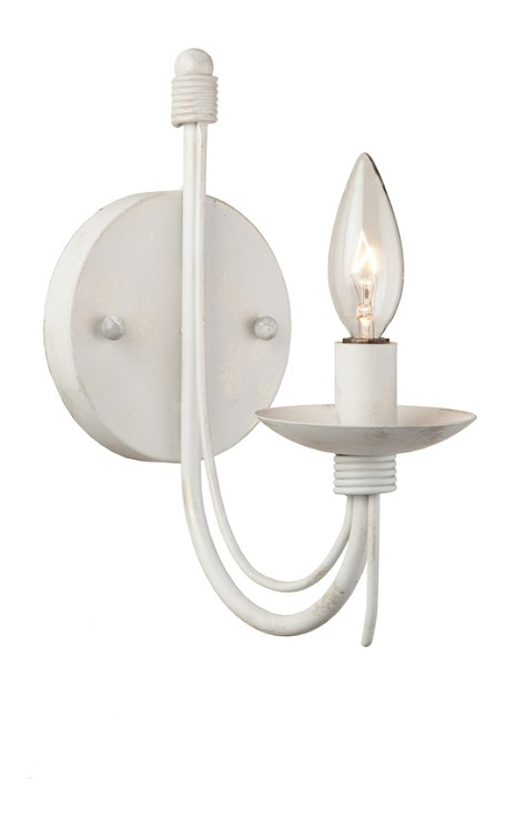 Antique White Antique White 1 Light Wall Sconce