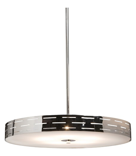 Chrome 4 Light Down Lighting Pendant From The Seattle Collection