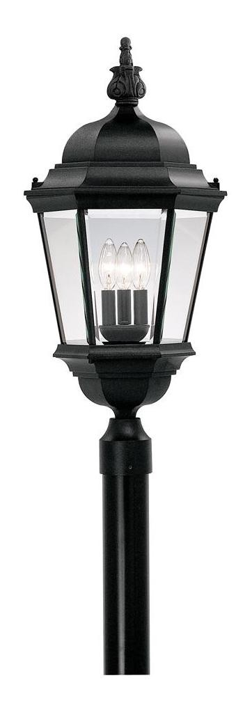 "Builder Collection 13"" Post Lantern 2956-BK"