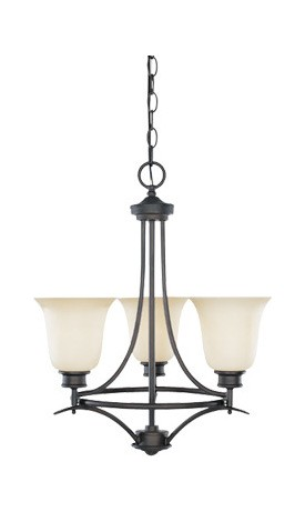 Montego Collection 3 Light Chandelier 96983-ORB