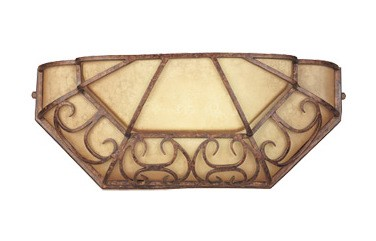 "Amherst Collection Energy Star 1-Light 16"" Burnt Umber Wall Sconce ES97540-BU"