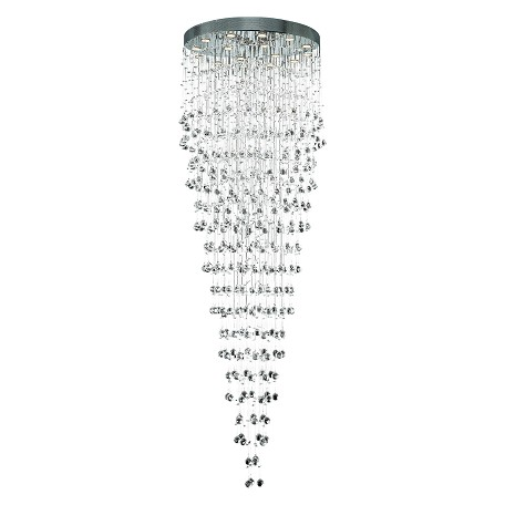 "Galaxy Collection 16-Light 32"" Chrome Chandelier with Clear  Swarovski Strass Crystal 2006G32C/SS"