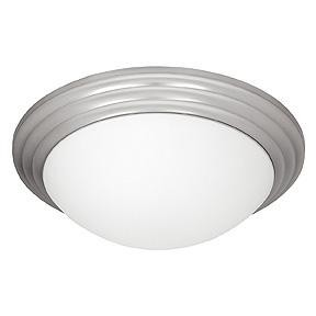 Access One Light Bs  Opl  Glass Bowl Flush Mount - 20652LEDD-BS/OPL