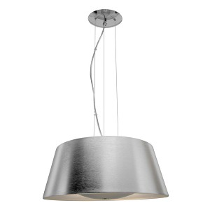 Access Three Light Bsl  Drum Shade Pendant - 23765-BSL