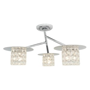 Access Semi Flush - 23924-CH/CCL
