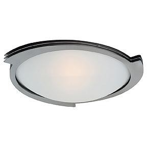 Access One Light Bs  Fst  Glass Bowl Flush Mount - 50073-BS/FST
