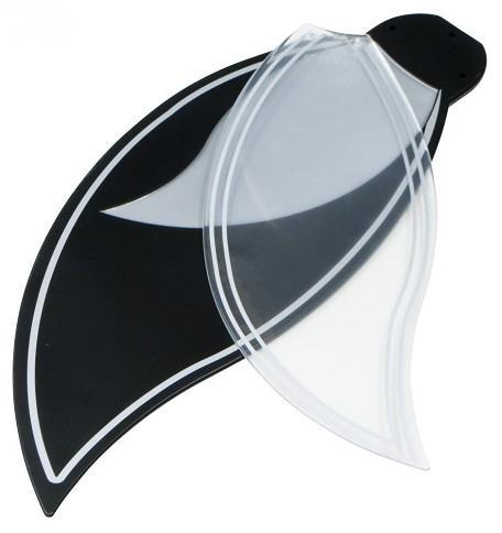 Craftmade White Fan Blade - BBL52-BLK-B