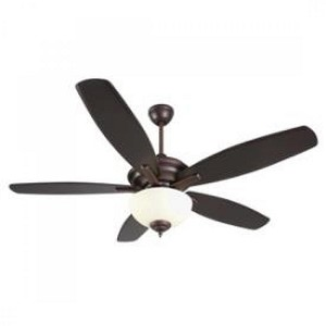 Craftmade Oiled Bronze Gilded Ceiling Fan - CN52OBG5