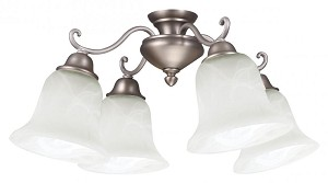 Craftmade Four Light Bn - Brushed Nickel Fan Light Kit - LK406CFL-BN
